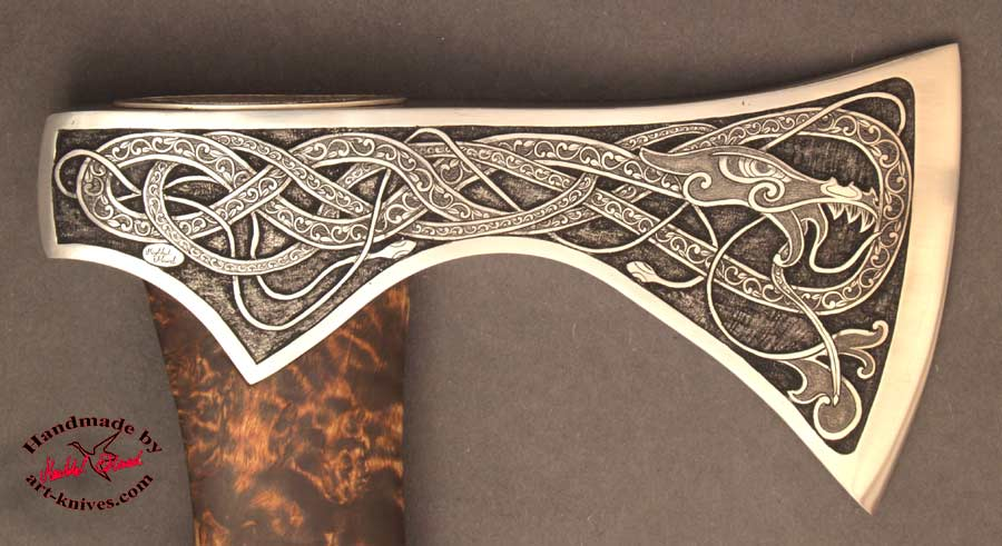 Engraved Ax Midgard 03 Jpg 900 215 491 Norse Celtic
